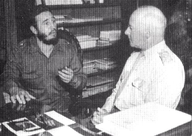 Fidel Castro e Lott, em 1959, que deu empurrão que faltava para Castello Branco se tornar conspirador contra a democracia