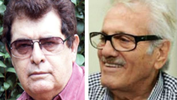 Luiz Augusto Pampinha e Batista Custódio completam 80 anos. Empolgados com jornalismo