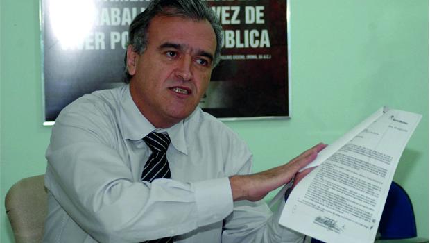 Jorcelino Braga diz que, contra nomes da estrutura, Vanderlan Cardoso vai se apresentar como candidato dos projetos