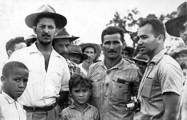 No centro da foto, José Porfírio, que desapareceu logo no início da ditadura: líder camponês, era acusado de ser comunista | Reprodução/Internet