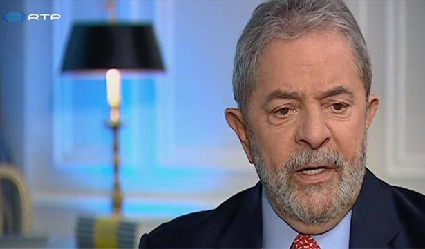 Segundo Lula, julgamento do mensalão teve 80% de decisão política e 20% de decisão jurídica. Foto: Reprodução/RTP