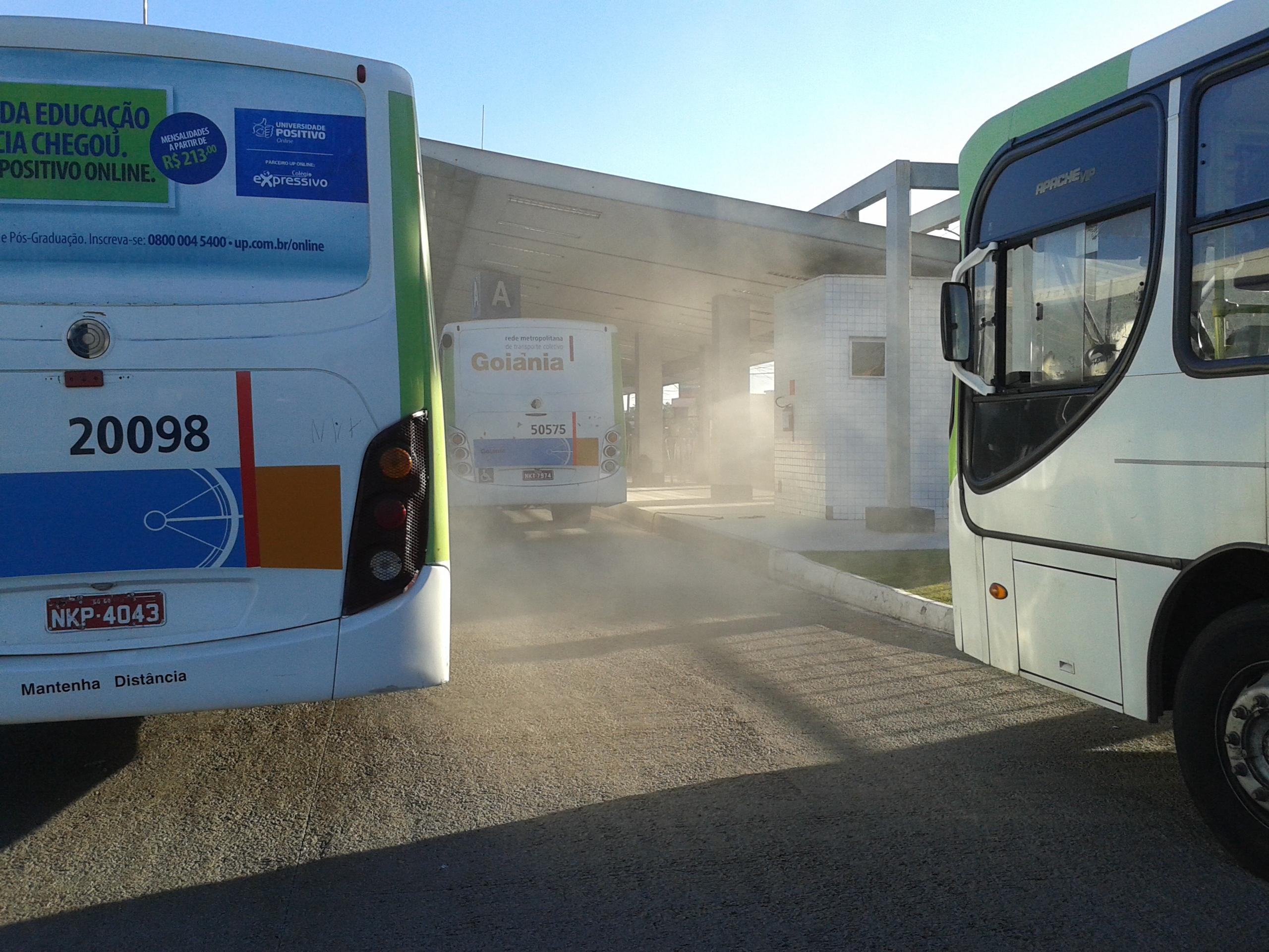 Motoristas de ônibus protestam contra acordo entre Sindittransporte e Setransp