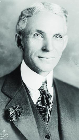 Henry Ford: titã da indústria automobilística acreditava na missão civilizatória da indústria / Foto: Wikipedia Commons