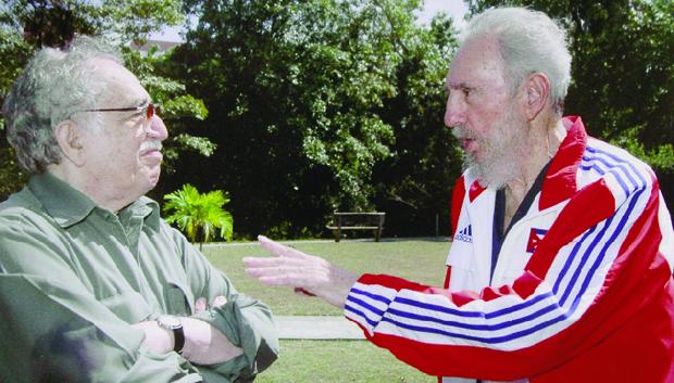 A amizade com Fidel Castro amordaçou o poder da crítica. García Márquez foi chamado de lacaio do ditador cubano   Foto:  El Tiempo