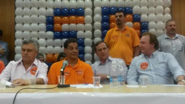 1º Encontro Regional do Solidariedade reúne Júnior Friboi, Antônio Gomide e Ronaldo Caiado
