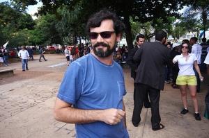 Professor Alexandre Santos / Foto: Fernando Leite - Jornal Opção