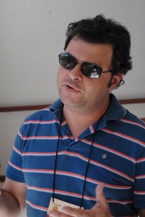 Petrucelli: destacou dois longas gringos no primeiro dia da mostra e dois curtas goianos, Dergo! e Ainda Que se Movam os Trens. Fotos: Marcello Dantas/Jornal Opção Online