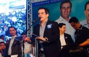 Presidente nacional do PP declarou apoio à base de Marconi