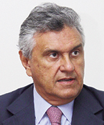 Ronaldo Caiado: sofrendo resistência da base governista