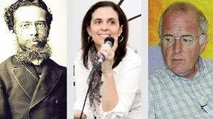 Machado de Assis: defesa de sua obra contra adaptação de Patrícia Secco (centro) com citação de John Gledson (direita)