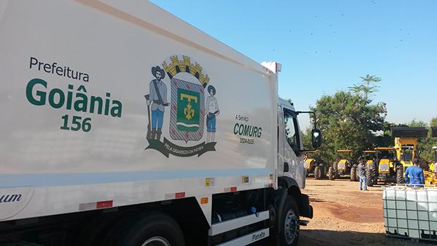 Funcionário da Comurg morre esmagado ao trocar pneu de caminhão de lixo