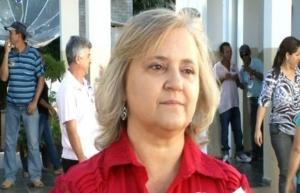 Prefeita de São Domingos, Etélia Vanja Moreira (PDT)