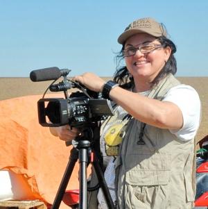 """""""O cinema é um sonho. Você sonha  e tem de ser muito persistente"""", diz a cineasta Rosa Berardo, que pontua as dificuldades  da pré-produção ao fim do processo. Foto: Arquivo Pessoal"""