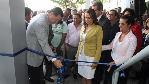 A inauguração contou com a presença de nomes políticos |Imagem: Leoiran