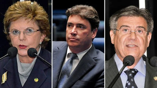 Os três senadores por Goiás são indicados para a CPI da Petrobras no Senado