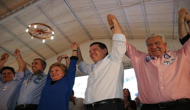 Marconi não adianta se será candidato em lançamento de José Eliton, à vice-governador, e de Vilmar Rocha, ao Senado