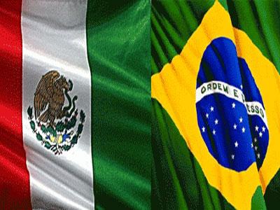Brasil e México iniciam segunda rodada da Copa em Fortaleza