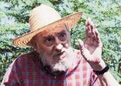 Fidel Castro: alquebrado, com quase 90 anos, o veterano ditador leva uma vida de potentado capitalista, apesar da pregação socalista... para os outros