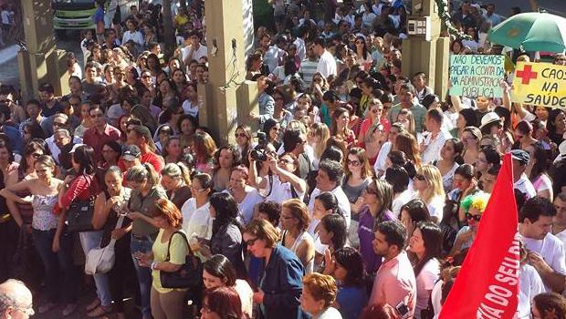 Apesar do fim da greve dos profissionais de saúde de Goiânia, mobilizações ainda acontecem