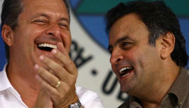 Eduardo Campos( PSB) e Aécio Neves (PSDB) derrubam aliança de PMDB com Dilma Rousseff