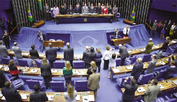 Congresso Nacional: proposta de Dilma esvazia papel dos congressistas e facilita controle da imprensa, objetivo histórico do PT   Foto: Wilson Dias/ Agência Brasil
