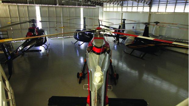Mais de 50 novos helicópteros de diversos modelos e tamanhos foram homologados em Goiás entre 2001 e 2013
