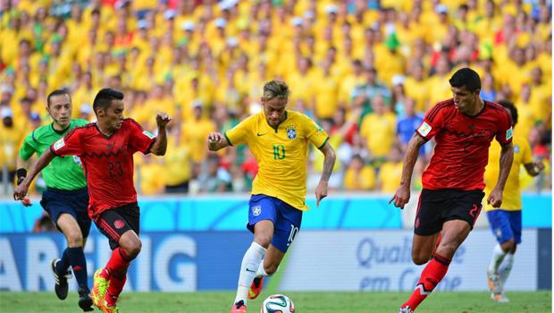 Brasil para na defesa mexicana e não sai do 0 a 0