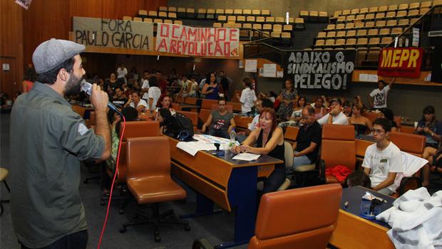Prevista para esta 3ª-feira, polícia não cumpre mandado de reintegração de posse da Câmara de Goiânia