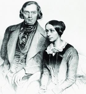 Robert e Clara Schumann formaram um dos casais mais famosos da história da música erudita