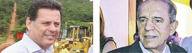 Marconi Perillo e Iris Rezende: o tucano e o peemedebista, se o jogo for convencional, devem ser os principais atacantes da disputa eleitoral deste ano. Eles tendem a polarizar