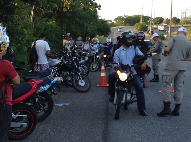 De olho no número de homicídios cometidos por motoqueiros, PM deflagra a Operação Prioridade Duas Rodas