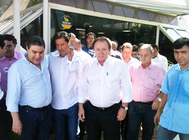 Escritório do empresário manteve-se movimentado durante praticamente toda sua pré-campanha | Foto: Marcello Dantas/Jornal Opção