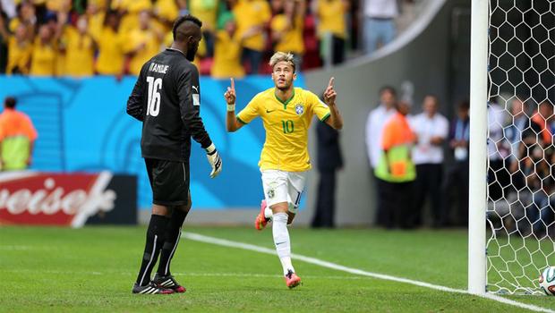 Melhor jogador da Copa: Mesmo após lesão, Neymar concorre ao prêmio Bola de Ouro