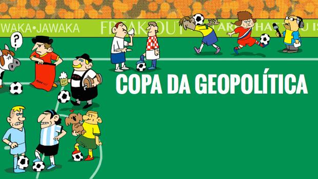 A maior competição esportiva do planeta está repleta de fortes simbolismos geopolíticos enquanto a bola rola dentro de campo