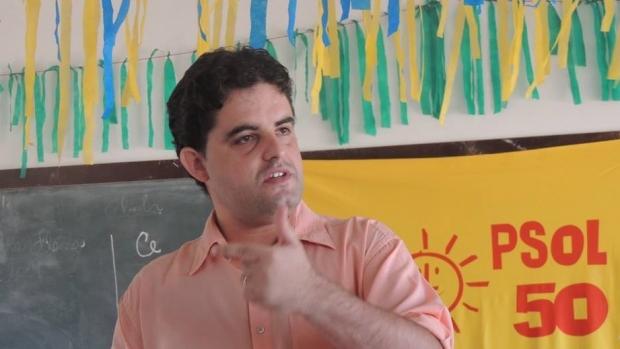 Professor Weslei Garcia é confirmado como candidato ao governo de Goiás pelo Psol