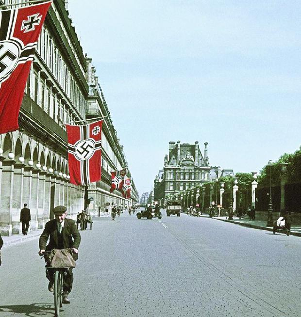 França tomada pela Alemanha nazista durante a Segunda Guerra Mundial. A ocupação durou de maio de 1940 a dezembro de 1944 | Foto: André Zucca