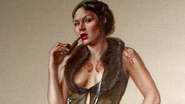 Quadro de mulher é retirado de exposição em Londres por mostrar pêlos pubianos