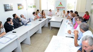 Maguito Vilela solicita à Saneago celeridade na ampliação da rede de água tratada
