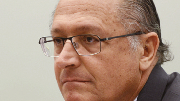 Governador Geraldo Alckmin: 54% das intenções de voto em SP | Foto: Antonio Cruz/ Agência Brasil