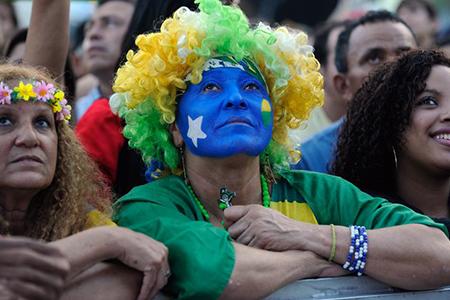Derrota não surpreende torcedores brasileiros