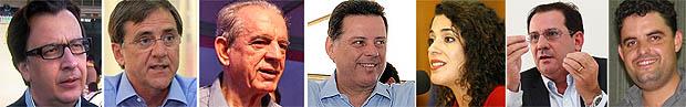 Candidatos ao governo estadual cumprem agenda na quarta-feira | Fotos: Reprodução e Jornal Opção