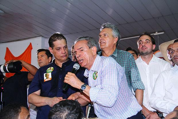 Em inauguração de comitê político, Iris Rezende reforça que paixão pelo povo continua sendo o foco da campanha
