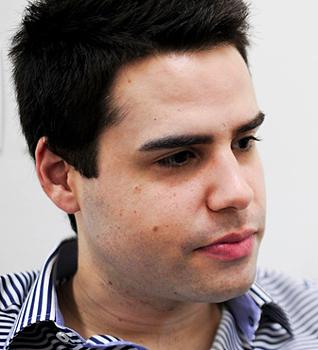 Luiz Bacci, a subcelebridade desconhecida por jornalistas locais | Foto: Reprodução