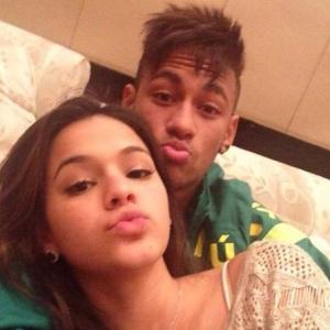 Bruna Marquezine e seu namorado, jogador da seleção brasileira Neymar