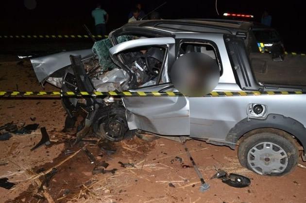 Vereador do PP e sargento da PM de Ceres morrem em colisão frontal na GO-336