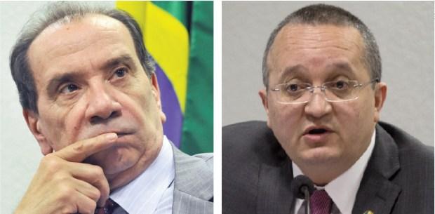 Aloysio Nunes e Pedro Taques
