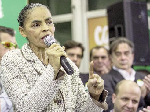 Marina Silva (provável substituta de Campos): proteção a usuário e não à vítima