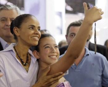 Marina Silva, candidata do PSB/Rede: um furacão na sucessão presidencial