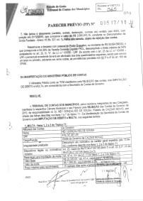 Tribunal de Contas imputa devolução de R$ 3 milhões para cofres públicos