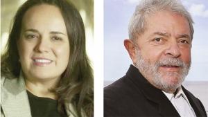 Sinara Polycarpo Figueiredo e Lula da Silva: o ex-presidente pediu a cabeça da superintendente de investimentos do banco Santander